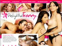 Welcome to Delightful Tranny! Delightful vids of these trannies pumping each other full of cock!